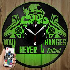 LED Vinyl Clock FallOut LED Wall Art Decor Clock Original Gift 5330