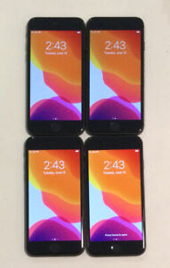 FOUR TESTED GSM UNLOCKED SPACE GRAY AT&T APPLE iPhone 8, 64GB A1905 PHONES R385P