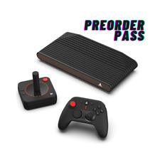 ATARI VCS 800 BLACK WALNUT CONSOLE   PC GAME INDIE & STREAMING   PREORDER PASS!!
