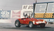 Survivor Devin 295 Drag Race Car 409 HP Historic Hot Rod Gasser Cobra Fiberglass
