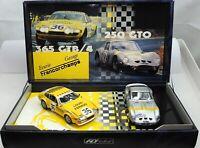 Fly Team Ferrari 250 GTO & 365 GTB/4 Francorchanps Slot racing car Team 14 88009