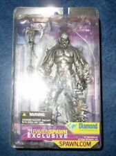 RAVEN SPAWN DIAMOND COMICS exclusive PEWTER SILVER variant ACTION FIGURE sealed
