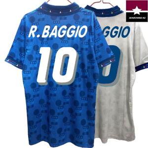 CAMISETA ITALIA 1994 ROBERTO BAGGIO RETRO MUNDIAL FUTBOL 94 DIADORA PERSONALIZAR
