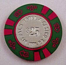 Palm Casino $25 House Chip San Juan Puerto Rico Blackjack Poker COIN CENTER