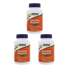 3X NOW FOODS CANDIDA CARE HEALTHY HERBAL SUPPORT DAILY BODY DIETARY SUPPLEMENT
