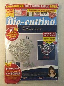 Die-Cutting Essentials Magazine Tattered Lace Tea Die Stamp Set