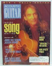 Acoustic Guitar Magazine Jimmie Dale Gilmore Jackson Browne November 1996 R