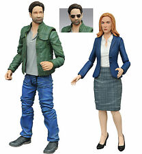 X Files Fox Mulder & Dana Scully Set of 2 Action Figures Diamond Select