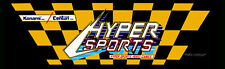 "Hyper Sports Arcade Marquee 26"" x 8"""