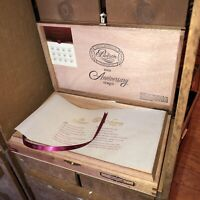 Padron 1964 Anniversary Imperial Empty Wooden Cigar Box 11.5x7x1.75