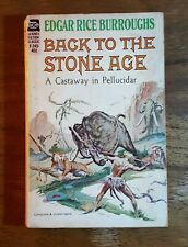Back to the Stone Age, Edgar Rice Burroughs, (1962), 1st printing, Ace, PB