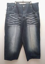 "Russo & Rucci Sz 48 Bleach Distressed Baggy Loose Fit 28"" Inseam Mens Jeans"