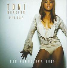 Toni Braxton Promo CD Please