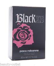 Paco Rabanne BLACK XS WOMEN EDT 80ml 2.7oz Eau de Toilette Perfume NEW BOX Woman