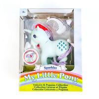 My Little Pony Unicorn + Pegasus Collection SPARKLER 35th Anniversary Retro 80s