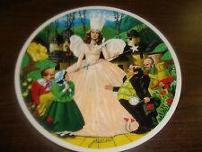 Wizard Of Oz Plate-Glinda-Follow The Yellow Brick Road-Plate #6-1979-Coa