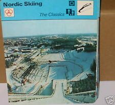 Nordic Skiing THE CLASSICS winter sports Collector card