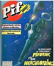 B8- Pif N°554 Dossier Pirates corsaires et flibustiers,Manivelle