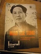 Litoral Homenaje Mao Tse Tung poeta filosofio guerrillero revolucionario N 64/66