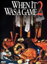 When It Was a Game 2 (DVD, 2001) HBO Sports Documentary NEW SEALED FREE SHIP