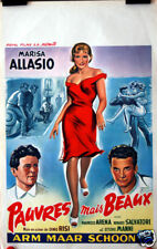M Alasio : Dino Risi :Poor Girl Pretty Girl : Poster