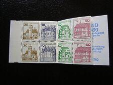ALLEMAGNE BERLIN -timbre-yvert et tellier carnet n° C575b (carnet dos n*) (A1)