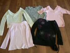 SIZE 8 SLIM FIT LADIES LONG SLEEVE TOPS SUZANNE GRAE IMPROVISE SUPRE FACE OFF