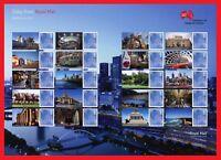 2013 LS86 G'Day From Melbourne Smiler. Full Sheet or Half Sheet.