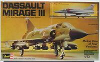 REVELL 4438 - DASSAULT MIRAGE III - 1:72 - Flugzeug Modellbausatz - Model KIT