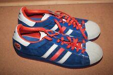 Adidas Superstar 1 NBA NYK New York Knicks Sneakers Shoes Blue Sz 12
