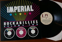 IMPERIAL ROCKABILLIES VOLUME TWO 20 ROCKABILLY TRACKS 1979 UK LP UAS 30173 MINT