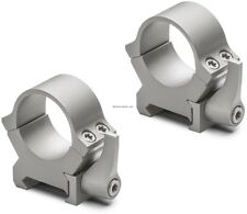 NEW Leupold QRW2 Scope Rings 1-in Med Silver 174069