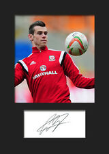 GARETH BALE #5 Signed Photo Print A5 Mounted Photo Print - FREE DELIVERY