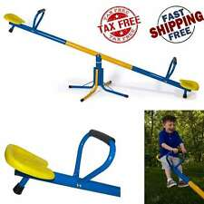 Kids Outdoor Backyard Steel Seesaw Toy Children Up Down Teeter Totter Playground