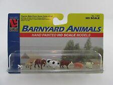 HO Barnyard Animals (7)  Life Like 433-1181 /  1603 HO Scale 1:87