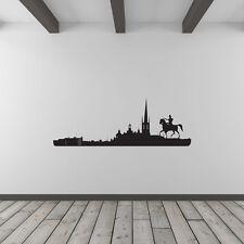 Città di Stoccolma SKYLINE VINILE WALL ART DECALCOMANIA PER Home Decor/interior design.
