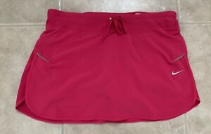 Nike Dri-Fit Women's Red Tennis Golf Skirt Sz Small