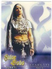 Stargate SG1 Season 5 False Gods Acetate Chase Card F8