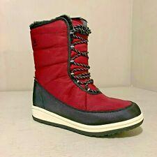 Kamik Women's Bianca Waterproof Winter Boot Red EU 39 Size 8