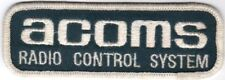 Tamiya RC Vintage ACOMS SEW ON PATCH Brand New VERY RARE RETRO NEVER STICHED ON