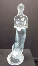 "David Parvin ""Untitled"" Clear Acrylic sculpture Hand Signed Make an Offer!!"