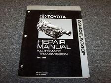 2000 2001 2002 2003 2004 Toyota Tundra A340F Transmission Service Repair Manual