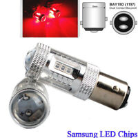 Red 1157 BAY15D 380×2 LED  SAMSUNG SMD Bulbs Reverse Tail Stop Brake Light