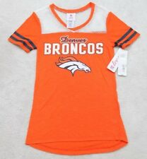Denver Broncos Orange Tee Shirt Solid Small 3 5 T-shirt Short Sleeve Teen 1f675a87e
