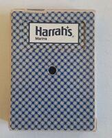 Vintage Harrahs Harrah's Marina Casino Playing Cards Deck Gemaco Cancelled Used