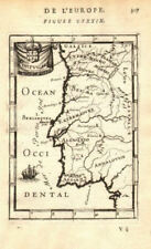 PORTUGAL showing provinces towns rivers. Lisbon Porto Algarve. MALLET 1683 map