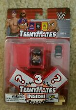 THE UNDERTAKER shown + 2 MYSTERY FIGS. of  WWE,TeenyMates Locker Room Set,SEALED