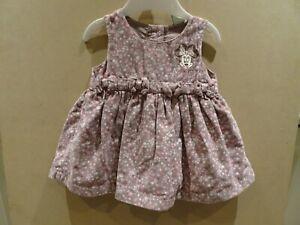 Disney Minnie Mouse Corduroy Pinafore Dress - 3-6 Months
