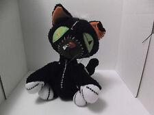 Kinder Goths VooDoo Black Cat 2003 Plush Goth Begoth Bleeding Edge Doll W/Tags