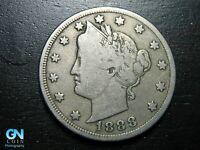 1888 Liberty V Nickel  --  MAKE US AN OFFER!  #B4682